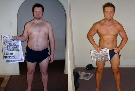 fat loss transformation contest
