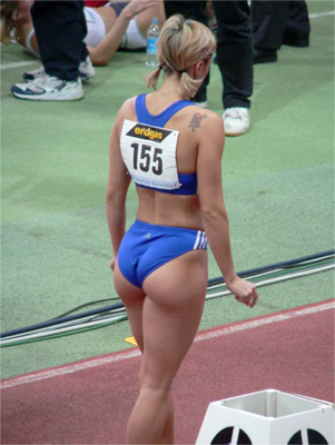 female athlete body
