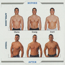 body transformation six pack abs