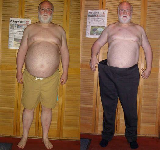 man fat loss