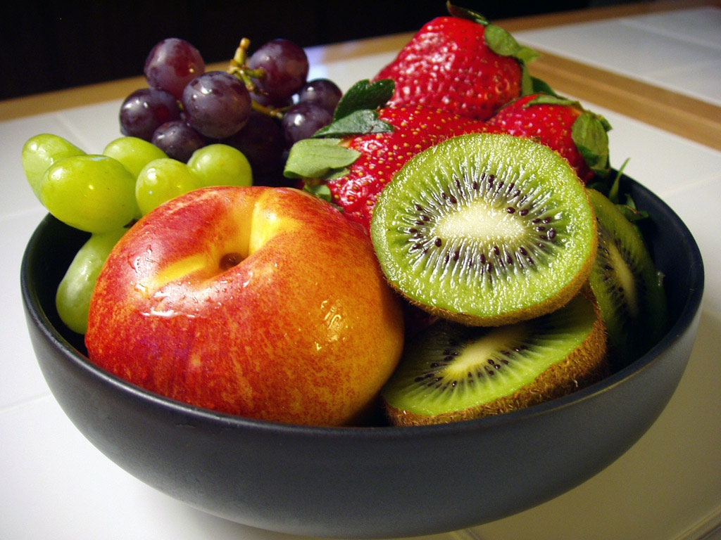 Bowl full of GMO fruit