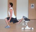 Bulgarian Split Squat Bodyweight Exercise