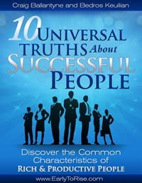 10 Universal Truths About Successful People