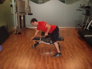 DB Row tough mudder training