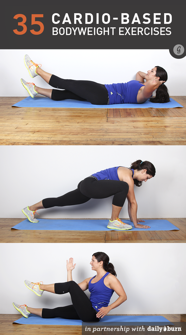 35 Cardio-Based Bodyweight Exercises