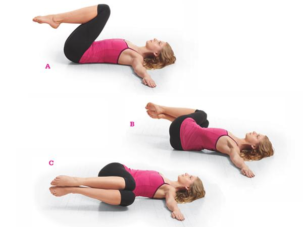 24 fat burning ab exercises no crunches for Floor exercises for abs