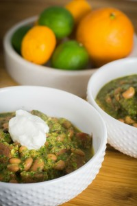 Black Eyed Peas Green Chili 1