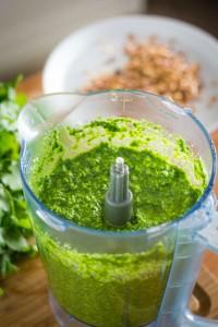 butternut squash mini penne and black kale pesto 6