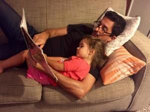 gui reading to scarlett