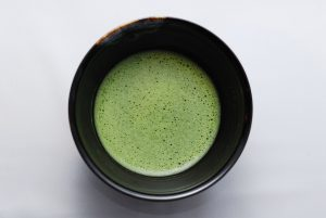 matcha and caffeine