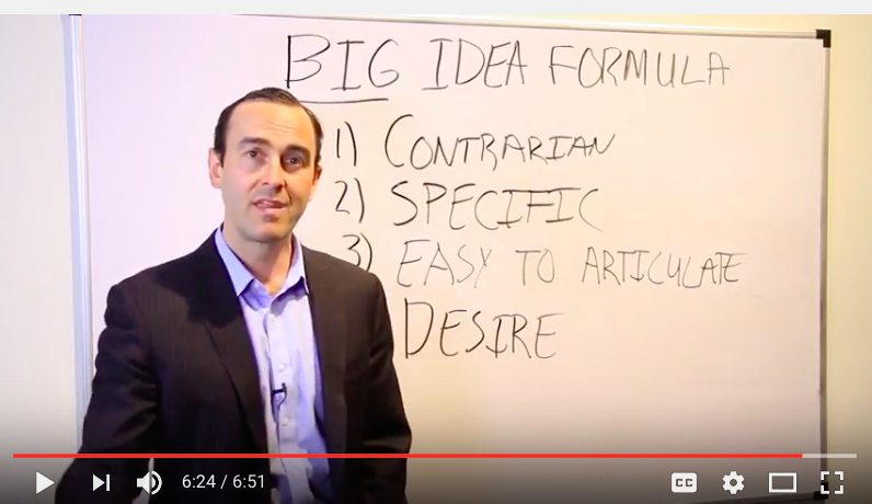BIG Idea Quickies for You